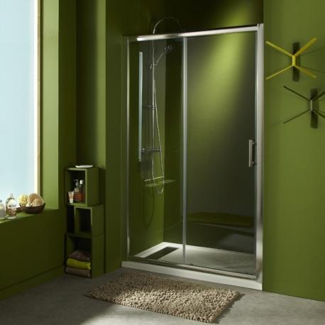 Porte de douche en verre portes pour douche style - Portes de douche coulissantes ...