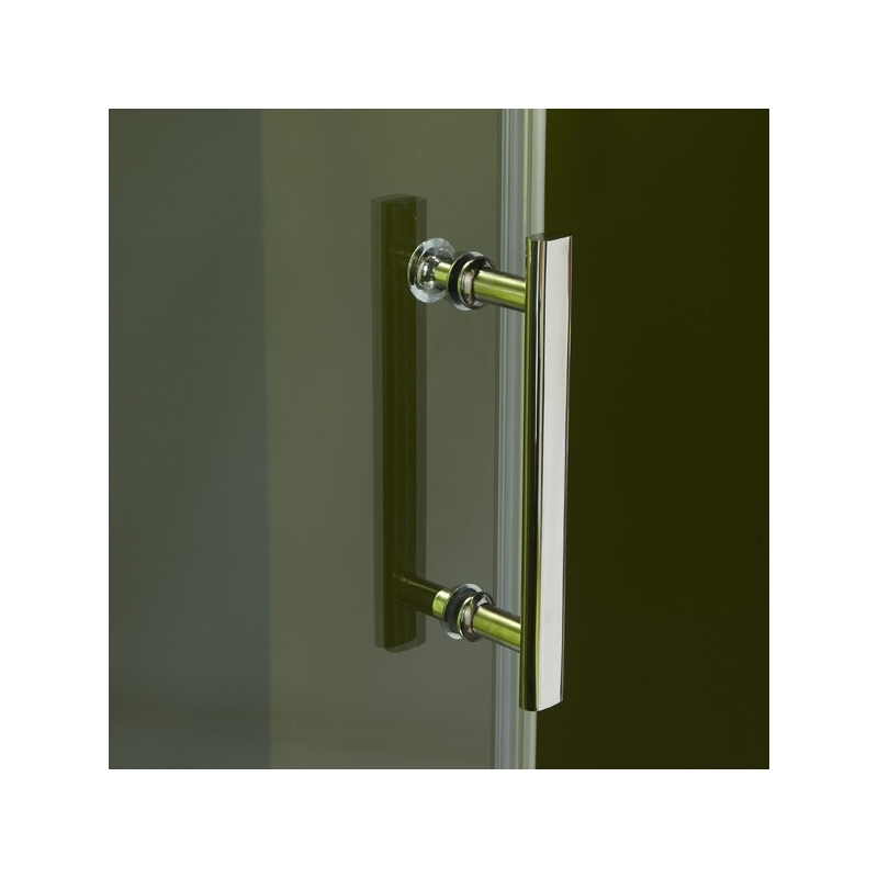 Porte de douche en verre portes pour douche style moderne planete bain - Porte cm ...