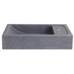 Vasque à poser en pierre