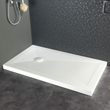 Receveur de douche à poser 80X140