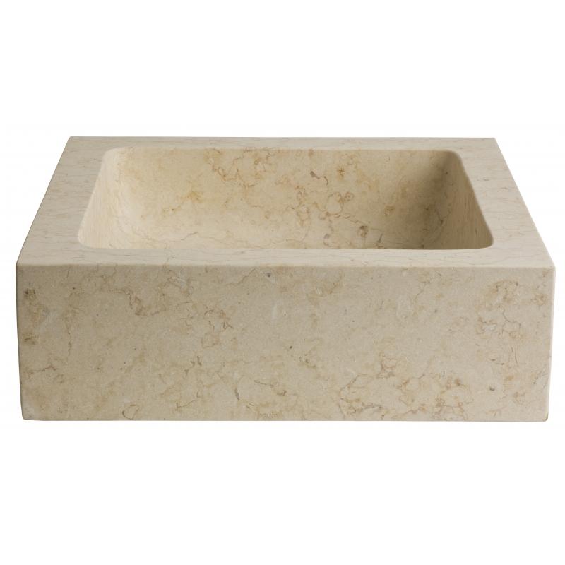 vasque a poser pierre naturelle vasques beige forme. Black Bedroom Furniture Sets. Home Design Ideas