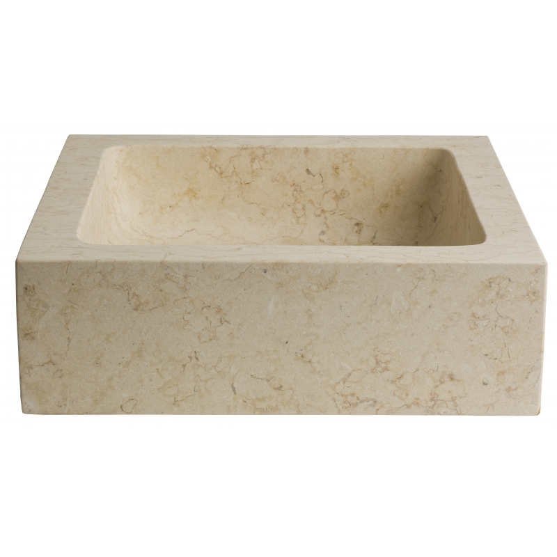 vasque a poser pierre naturelle vasques beige forme rectangulaire. Black Bedroom Furniture Sets. Home Design Ideas
