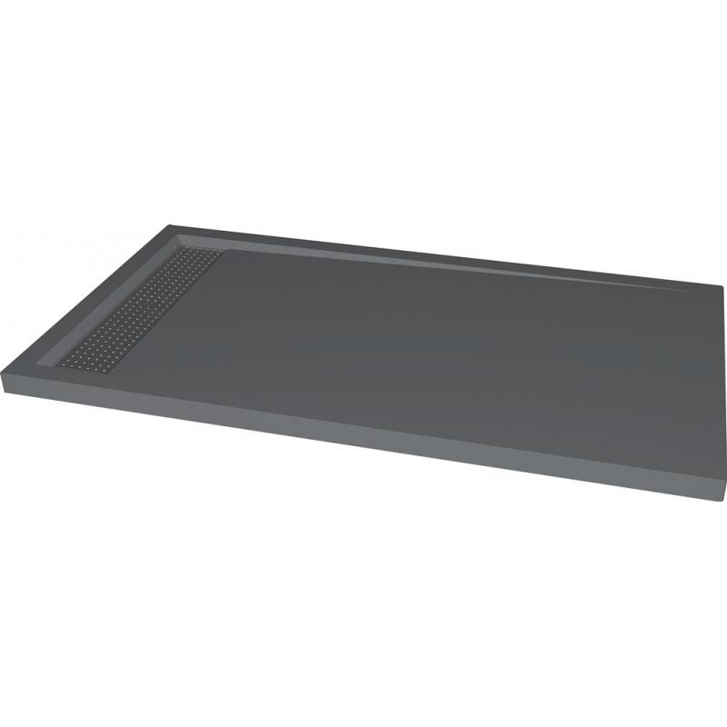 receveur douche extra plat receveurs coloris gris planete bain. Black Bedroom Furniture Sets. Home Design Ideas