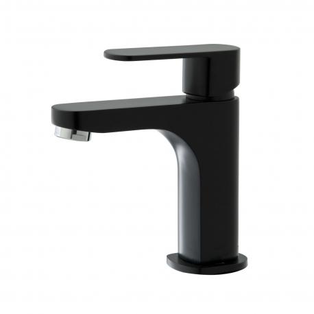 Mitigeur de lavabo noir Nolen