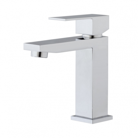MIitigeur de lavabo carré Square chrome