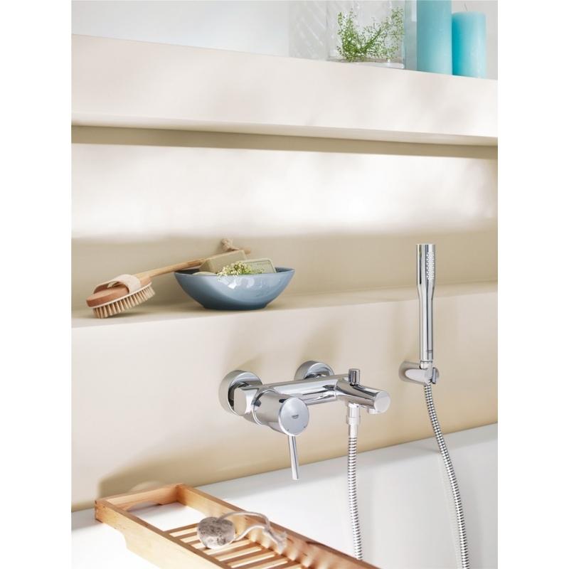 mitigeur baignoire nouveau concetto mitigeurs de bain. Black Bedroom Furniture Sets. Home Design Ideas