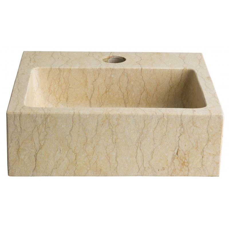 lave mains rectangulaire pas cher lavabos beige planete bain. Black Bedroom Furniture Sets. Home Design Ideas