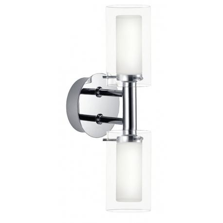 Réglette à fixer de salle de bain double lumière