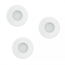 Lot de 3 spots LED encastrable blanc