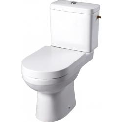 Pack wc à poser avec abattant magnétique sortie horizontale