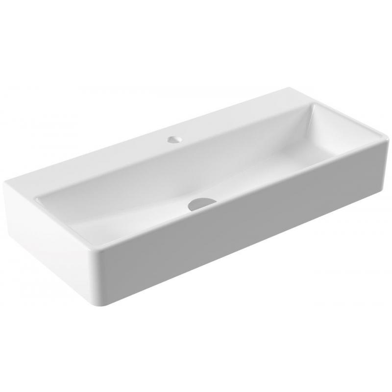 vasque très rectangulaire - vasque moderne en céramique - Vasque Rectangulaire Salle De Bain
