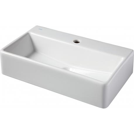 vasque poser rectangulaire vasque en c ramique pas cher. Black Bedroom Furniture Sets. Home Design Ideas