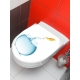 Sticker wc poisson
