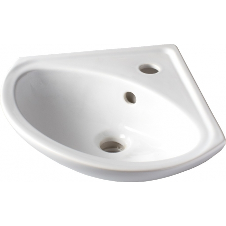 Lave mains d 'angle à suspendre