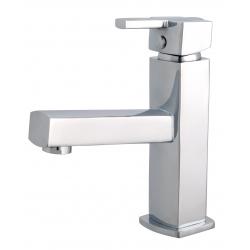 Mitigeur lave mains forme carrée Scoop - eau chaude/froide