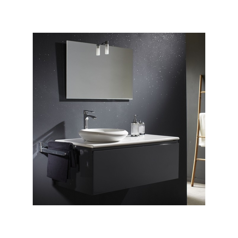 meuble salle de bain avec plan et vasque c ramique pas cher. Black Bedroom Furniture Sets. Home Design Ideas