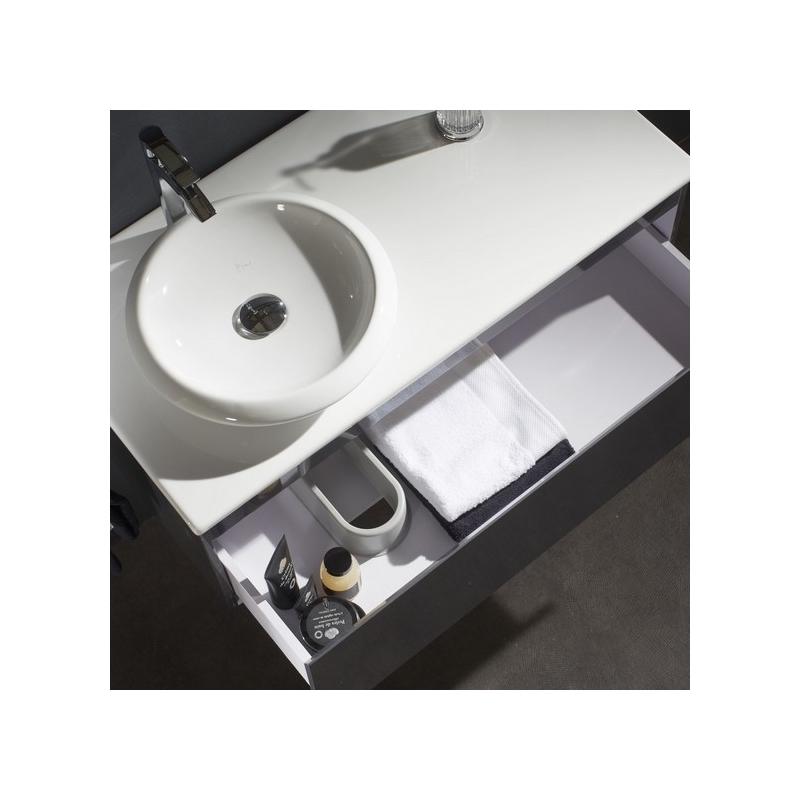 Meuble salle de bain avec plan et vasque c ramique pas cher for Meuble salle de bain vasque ceramique
