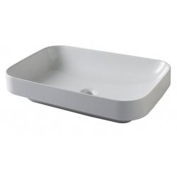 Vasque rectangulaire à poser céramique 60X40 Firenze