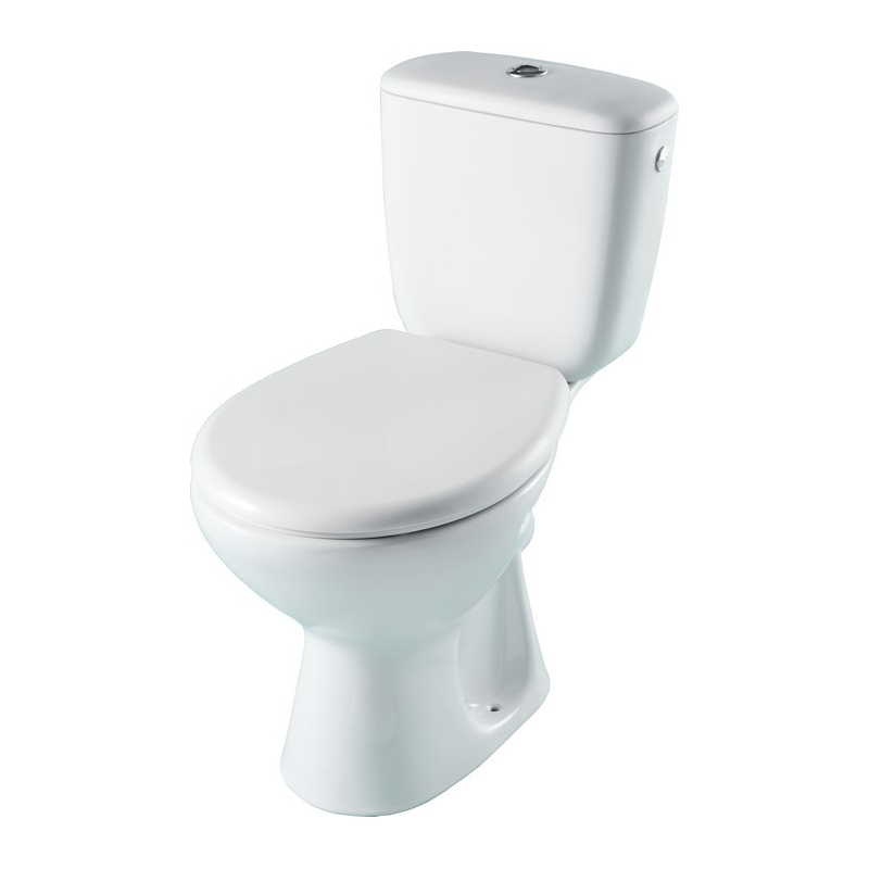 Wc c ramique blanche vente toilettes a poser planete bain Wc a poser sortie horizontale