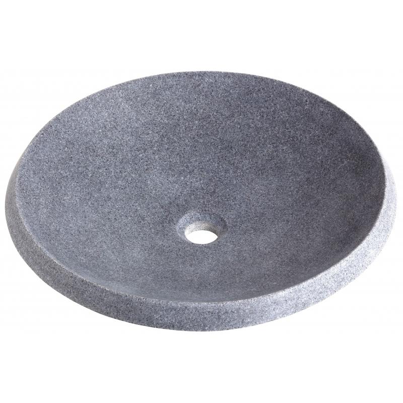 vasque pour salle de bain vasques en pierre grise ardoise. Black Bedroom Furniture Sets. Home Design Ideas
