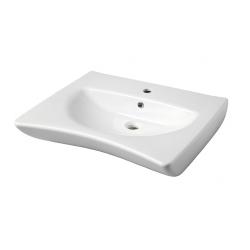 Lavabo ergonomique PMR 66 cm