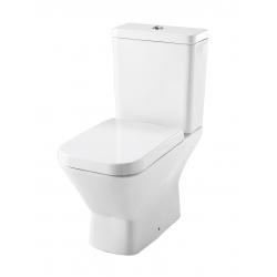"""Ensemble WC """"prêt à poser"""" blanc"""
