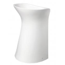 Lavabo sur pied design blanc