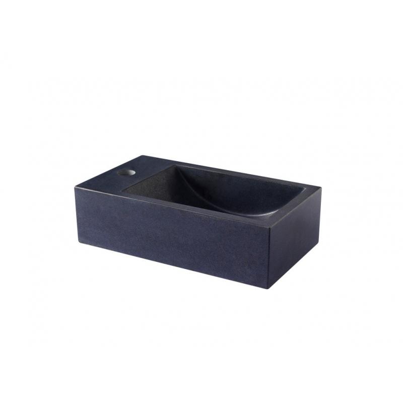 Lave mains coloris noir pas cher – Lavabo forme rectangulaire