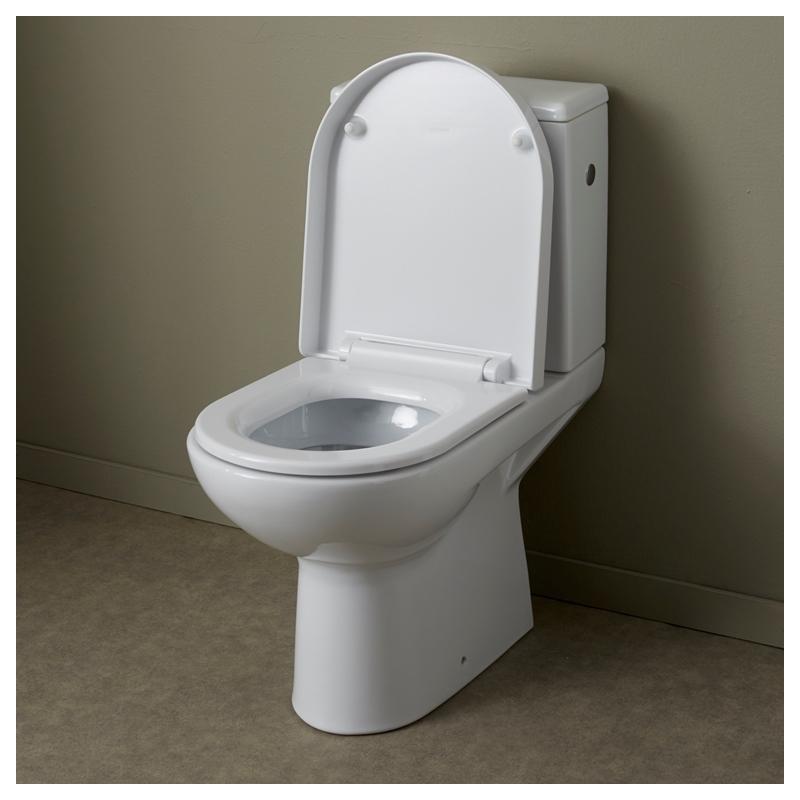 Vente de pack wc horizontal a poser moderne en c ramique planetebain Wc a poser sortie horizontale