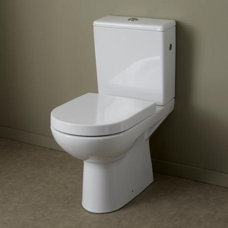 Pack WC à poser en céramique à sortie horizontale