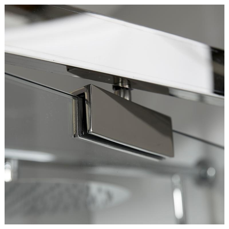 achat porte de douche pivotante avec verre seurit 10 mm. Black Bedroom Furniture Sets. Home Design Ideas