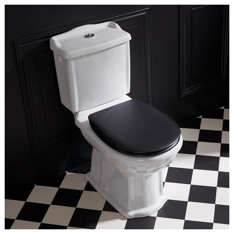 vente d 39 un pack wc r tro poser en c ramique sortie horizontale. Black Bedroom Furniture Sets. Home Design Ideas
