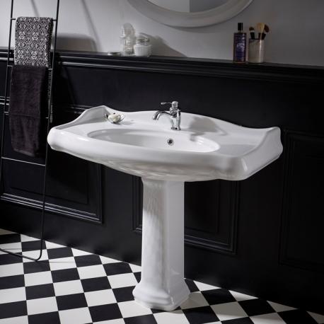 lavabo colonne retro 100x87 cm ceramique Résultat Supérieur 16 Impressionnant Lavabo Colonne Salle De Bain Galerie 2017 Lok9