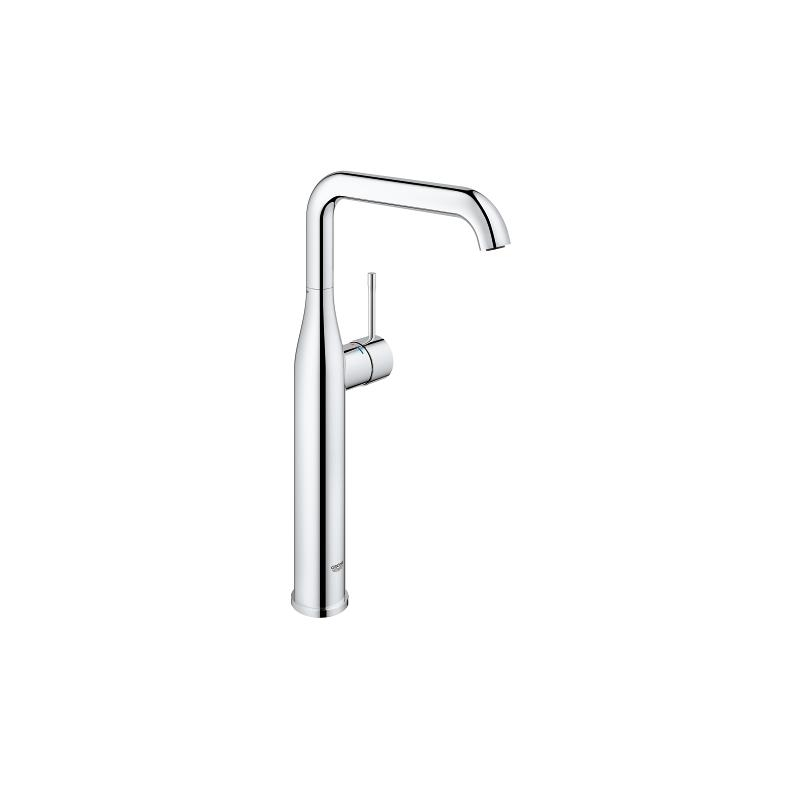 Mitigeur haut grohe mitigeurs de vasque poser chrom for Vasque grohe