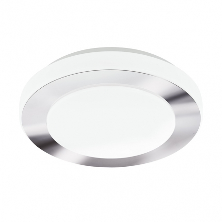 Plafonnier led chrome diametre 30cm