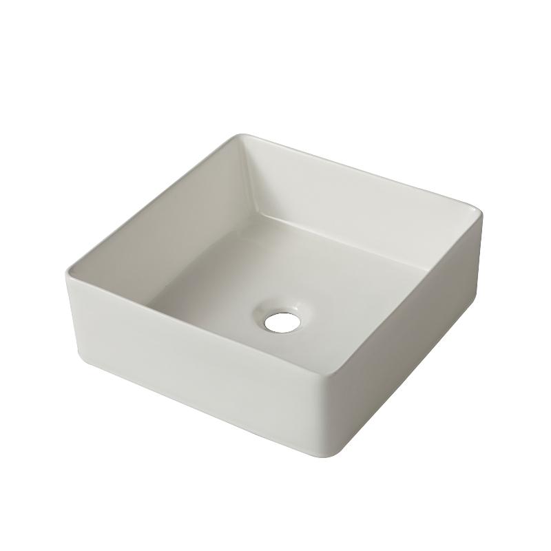 vente vasque en c ramique blanche poser sur un plan ou sur un meuble excellent rapport. Black Bedroom Furniture Sets. Home Design Ideas