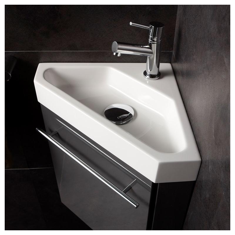lave main d 39 angle wc avec meuble pas cher planetebain. Black Bedroom Furniture Sets. Home Design Ideas