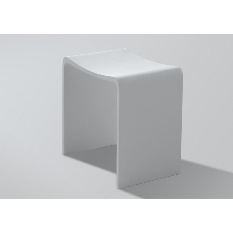 Siege De Douche En Solide Surface Moderne