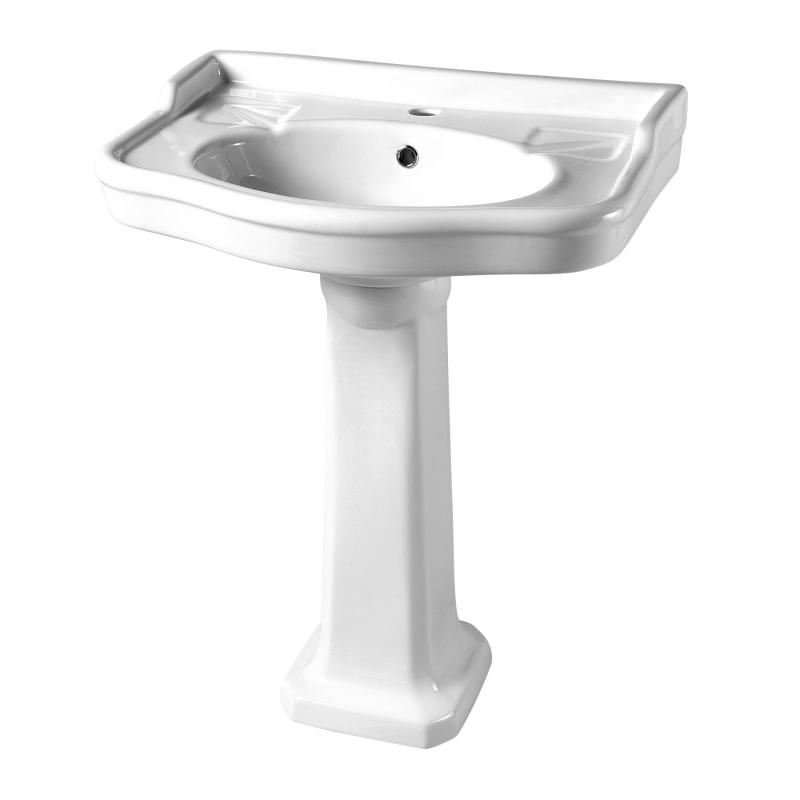 lavabo avec colonne retro vente lavabos porcelaine planete bain. Black Bedroom Furniture Sets. Home Design Ideas