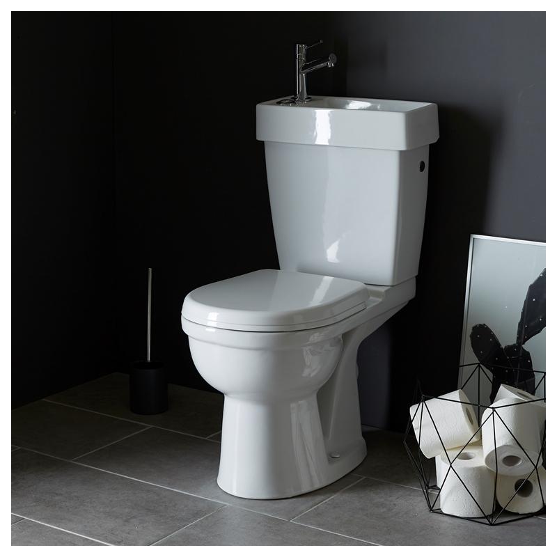 pack wc 2 en 1 ensemble toilettes pas cher sur planete bain. Black Bedroom Furniture Sets. Home Design Ideas