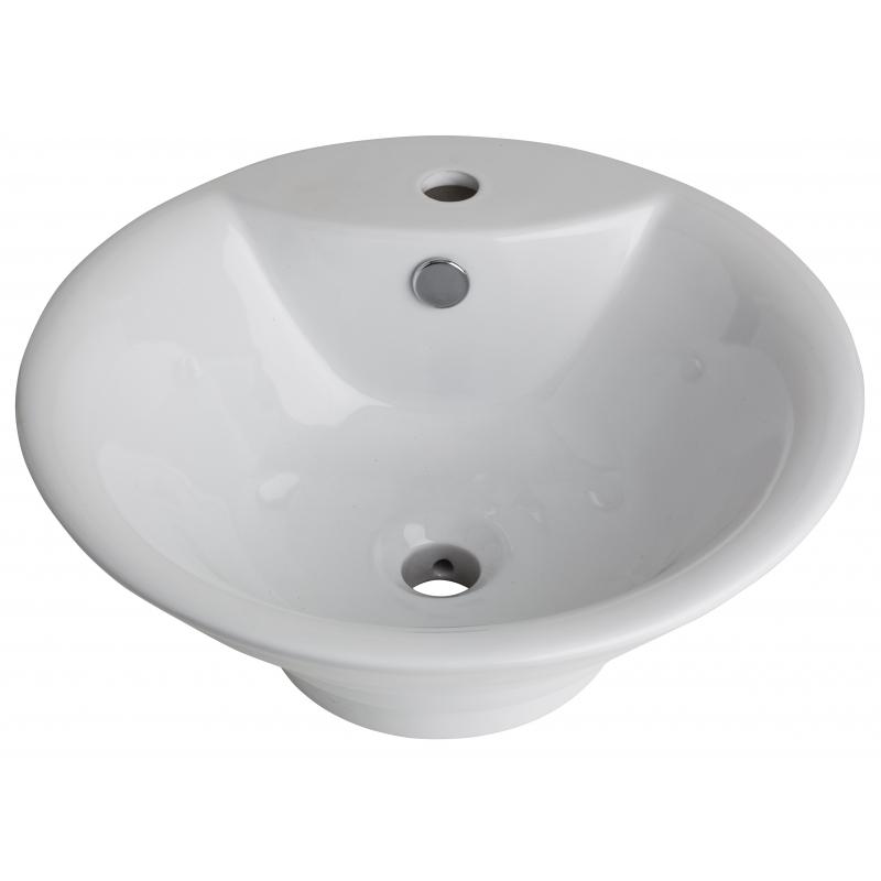 Vasque poser conique vasques porcelaine pas cher planete bain - Vasque a poser pas cher ...