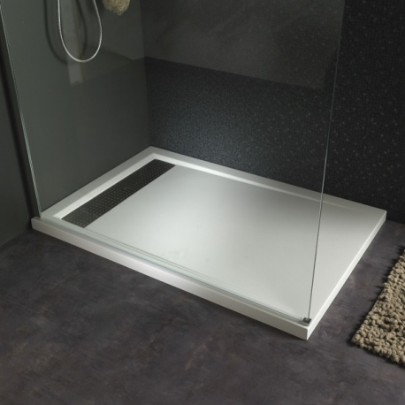 receveur extra plat 90x120 tr s moderne pour votre salle. Black Bedroom Furniture Sets. Home Design Ideas