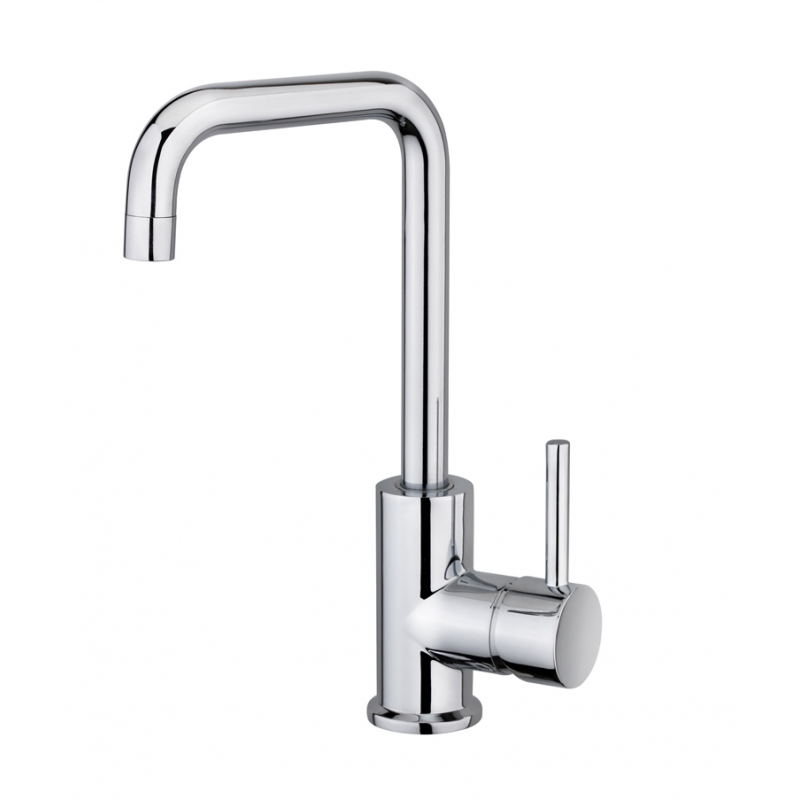 PLANETE BAIN OFFICIEL Mitigeur de lavabo chrome Baltic, C...