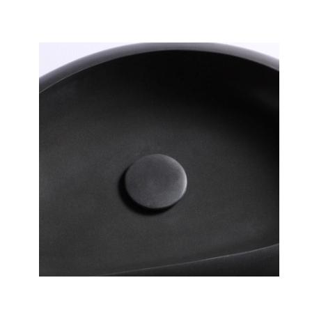 Kit bonde écoulement libre + cabochon en pierre noir