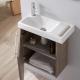 Pack lave mains colorado avec lave mains porte serviette et robinetterie eau froide