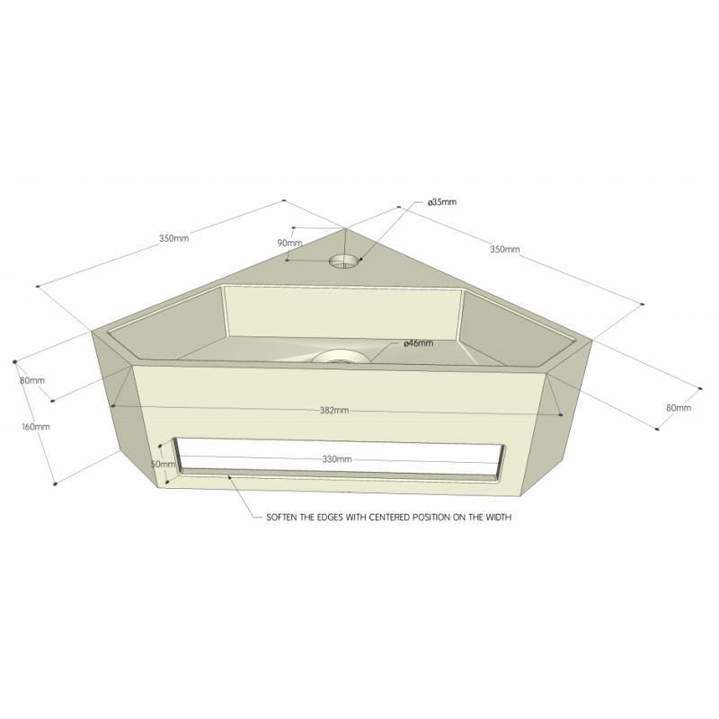 achat lave mains d 39 angle pour wc. Black Bedroom Furniture Sets. Home Design Ideas