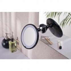 Miroir grossissant lumineux à ventouse Belita