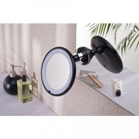 vente miroir cosm tique clairant ventouse planetebain. Black Bedroom Furniture Sets. Home Design Ideas