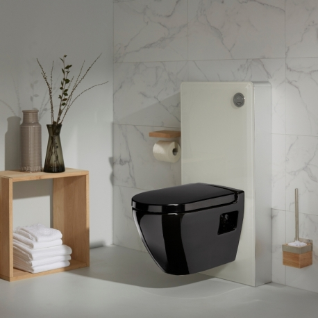 PlaneteBain Pack WC Suspendu Sol Cuvette WC NF Fournitures ...