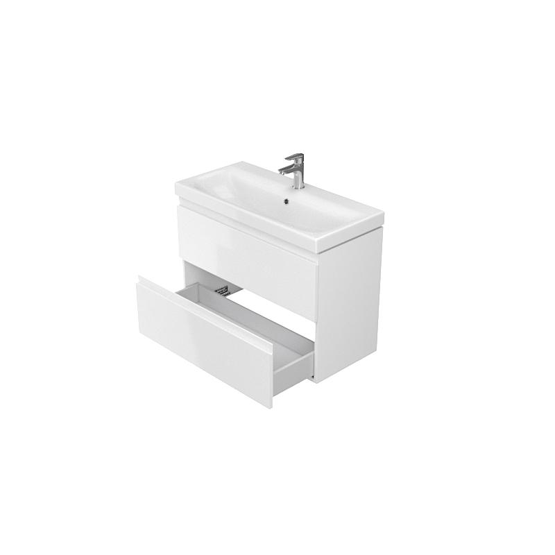 vente meuble de salle de bain 80x375cm faible profondeur